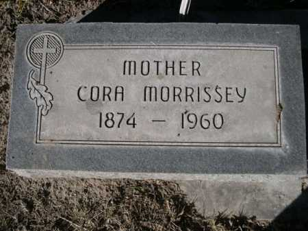 MORRISSEY, CORA - Dawes County, Nebraska | CORA MORRISSEY - Nebraska Gravestone Photos