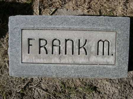 MORRISSEY, FRANK M. - Dawes County, Nebraska | FRANK M. MORRISSEY - Nebraska Gravestone Photos