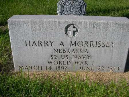 MORRISSEY, HARRY A. - Dawes County, Nebraska | HARRY A. MORRISSEY - Nebraska Gravestone Photos