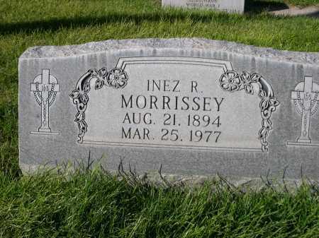 MORRISSEY, INEZ R. - Dawes County, Nebraska | INEZ R. MORRISSEY - Nebraska Gravestone Photos