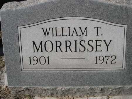 MORRISSEY, WILLIAM T. - Dawes County, Nebraska | WILLIAM T. MORRISSEY - Nebraska Gravestone Photos