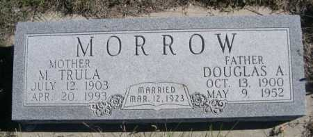 MORROW, DOUGLAS A. - Dawes County, Nebraska | DOUGLAS A. MORROW - Nebraska Gravestone Photos
