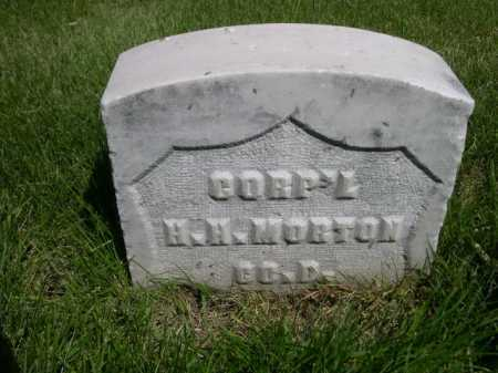 MORTON, H. H. - Dawes County, Nebraska   H. H. MORTON - Nebraska Gravestone Photos