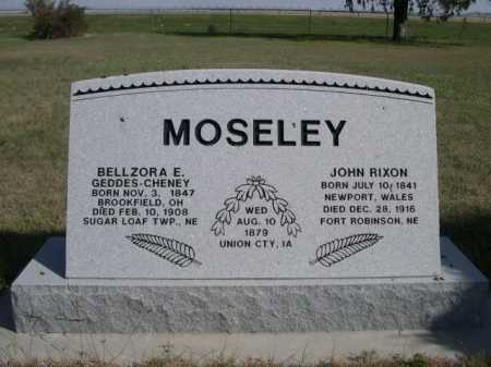 MOSELEY, JOHN RIXON - Dawes County, Nebraska | JOHN RIXON MOSELEY - Nebraska Gravestone Photos