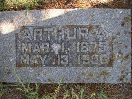 MOSS, ARTHUR A. - Dawes County, Nebraska | ARTHUR A. MOSS - Nebraska Gravestone Photos