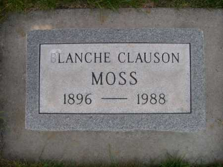 MOSS, BLANCHE CLAUSON - Dawes County, Nebraska | BLANCHE CLAUSON MOSS - Nebraska Gravestone Photos