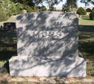 MOSS, FAMILY - Dawes County, Nebraska | FAMILY MOSS - Nebraska Gravestone Photos