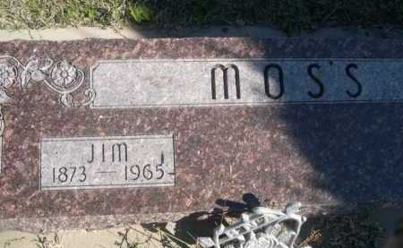 MOSS, JIM - Dawes County, Nebraska | JIM MOSS - Nebraska Gravestone Photos