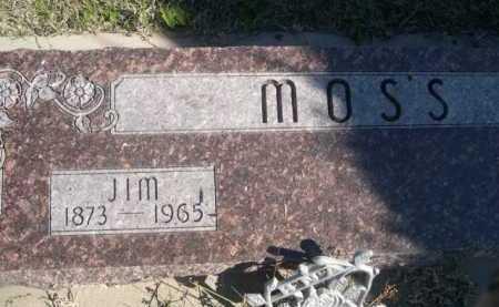 MOSS, JIM - Dawes County, Nebraska | JIM MOSS - Nebraska Gravestone Photos