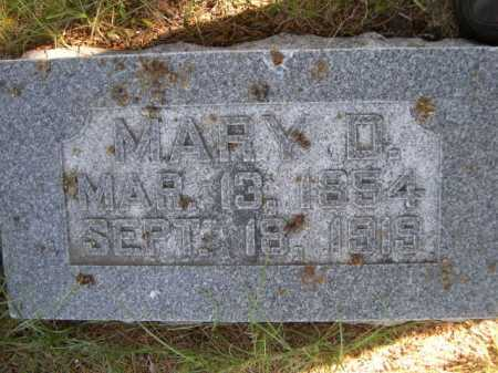 MOSS, MARY D. - Dawes County, Nebraska | MARY D. MOSS - Nebraska Gravestone Photos