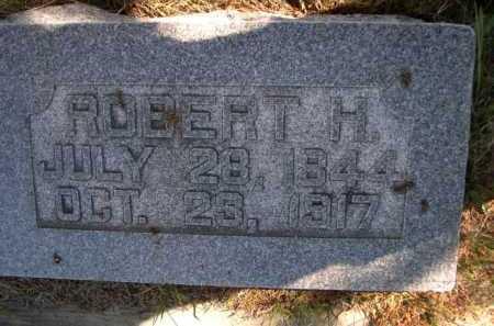 MOSS, ROBERT H. - Dawes County, Nebraska | ROBERT H. MOSS - Nebraska Gravestone Photos