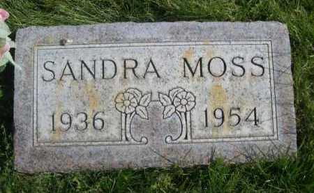 MOSS, SANDRA - Dawes County, Nebraska   SANDRA MOSS - Nebraska Gravestone Photos