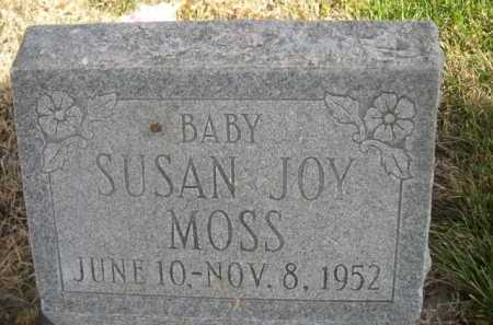 MOSS, SUSAN JOY - Dawes County, Nebraska | SUSAN JOY MOSS - Nebraska Gravestone Photos