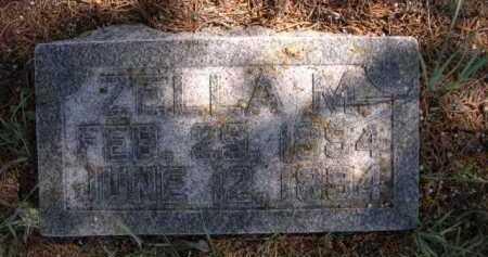 MOSS, ZELLA M. - Dawes County, Nebraska | ZELLA M. MOSS - Nebraska Gravestone Photos