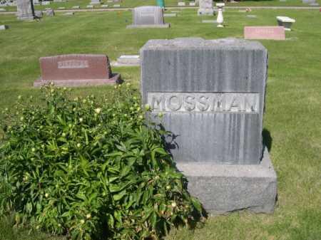 MOSSMAN, FAMILY - Dawes County, Nebraska   FAMILY MOSSMAN - Nebraska Gravestone Photos