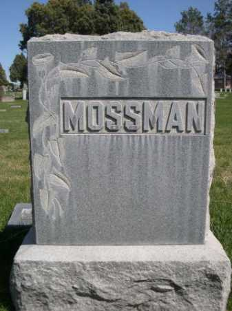 MOSSMAN, FAMILY - Dawes County, Nebraska | FAMILY MOSSMAN - Nebraska Gravestone Photos