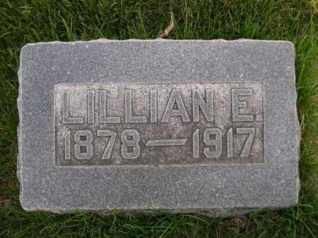 MOSSMAN, LILLIAN E. - Dawes County, Nebraska | LILLIAN E. MOSSMAN - Nebraska Gravestone Photos