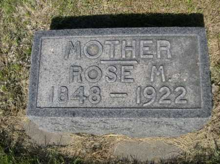MOSSMAN, ROSE M. - Dawes County, Nebraska | ROSE M. MOSSMAN - Nebraska Gravestone Photos