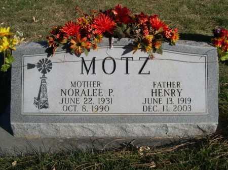 MOTZ, HENRY - Dawes County, Nebraska | HENRY MOTZ - Nebraska Gravestone Photos