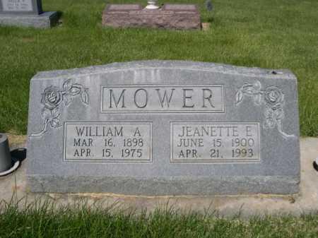 MOWER, JEANETTE E. - Dawes County, Nebraska | JEANETTE E. MOWER - Nebraska Gravestone Photos