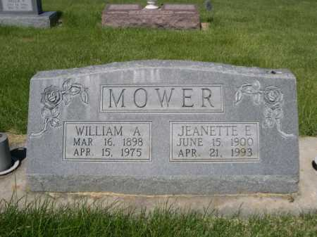 MOWER, WILLIAM A. - Dawes County, Nebraska | WILLIAM A. MOWER - Nebraska Gravestone Photos