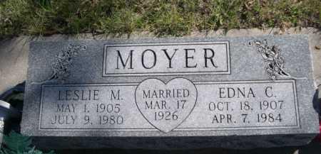 MOYER, EDNA C. - Dawes County, Nebraska | EDNA C. MOYER - Nebraska Gravestone Photos