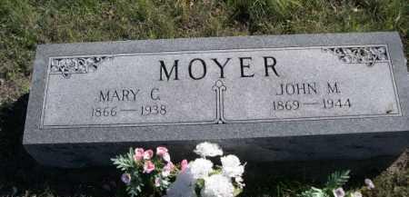 MOYER, MARY G. - Dawes County, Nebraska | MARY G. MOYER - Nebraska Gravestone Photos