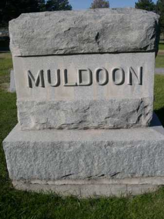 MULDOON, FAMILY - Dawes County, Nebraska   FAMILY MULDOON - Nebraska Gravestone Photos