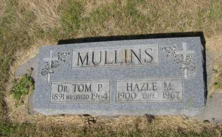 MULLINS, HAZLE M. - Dawes County, Nebraska | HAZLE M. MULLINS - Nebraska Gravestone Photos