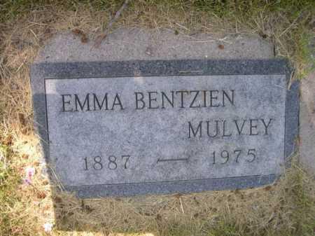 BENTZIEN MULVEY, EMMA - Dawes County, Nebraska | EMMA BENTZIEN MULVEY - Nebraska Gravestone Photos