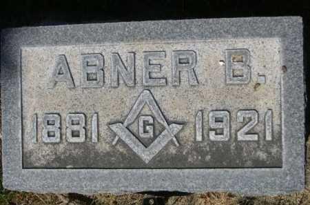 MUNGER, ABNER B. - Dawes County, Nebraska | ABNER B. MUNGER - Nebraska Gravestone Photos