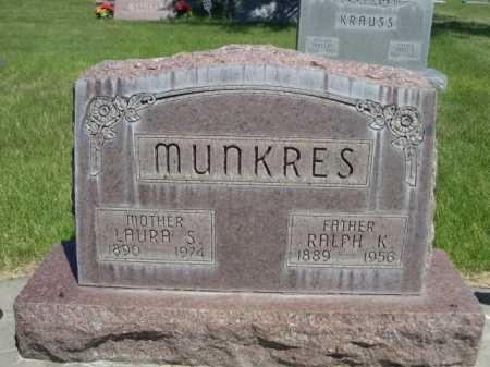 MUNKRES, LAURA S. - Dawes County, Nebraska | LAURA S. MUNKRES - Nebraska Gravestone Photos