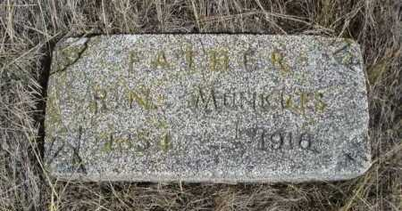 MUNKRES, R.N. - Dawes County, Nebraska | R.N. MUNKRES - Nebraska Gravestone Photos