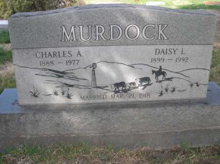 MURDOCK, CHARLES A. - Dawes County, Nebraska | CHARLES A. MURDOCK - Nebraska Gravestone Photos