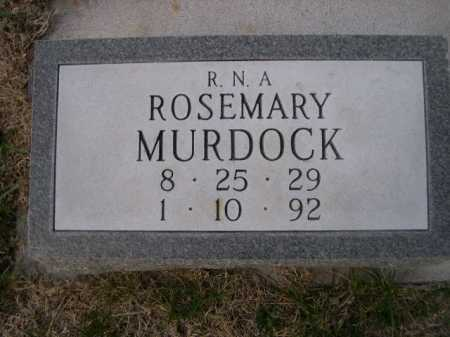 MURDOCK, ROSEMARY - Dawes County, Nebraska | ROSEMARY MURDOCK - Nebraska Gravestone Photos