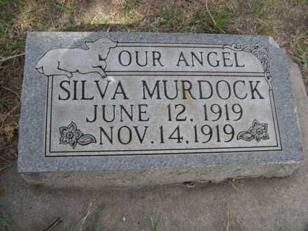 MURDOCK, SILVA - Dawes County, Nebraska | SILVA MURDOCK - Nebraska Gravestone Photos