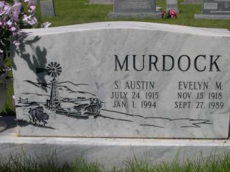 MURDOCK, EVELYN M. - Dawes County, Nebraska | EVELYN M. MURDOCK - Nebraska Gravestone Photos
