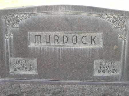 MURDOCK, STEVE A. - Dawes County, Nebraska   STEVE A. MURDOCK - Nebraska Gravestone Photos