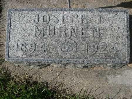 MURNEN, JOSEPH T. - Dawes County, Nebraska   JOSEPH T. MURNEN - Nebraska Gravestone Photos