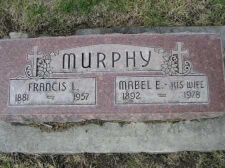 MURPHY, MABEL E. - Dawes County, Nebraska | MABEL E. MURPHY - Nebraska Gravestone Photos