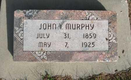 MURPHY, JOHN I. - Dawes County, Nebraska | JOHN I. MURPHY - Nebraska Gravestone Photos