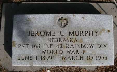 MURPHY, JEROME C. - Dawes County, Nebraska | JEROME C. MURPHY - Nebraska Gravestone Photos