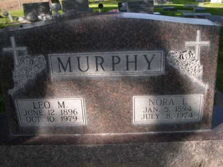 MURPHY, LEO M. - Dawes County, Nebraska | LEO M. MURPHY - Nebraska Gravestone Photos