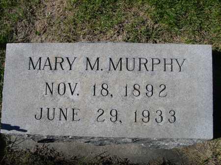 MURPHY, MARY M. - Dawes County, Nebraska   MARY M. MURPHY - Nebraska Gravestone Photos