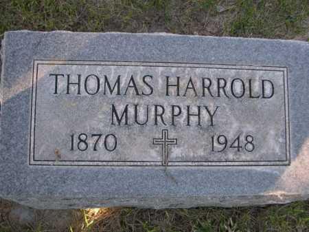 MURPHY, THOMAS HARROLD - Dawes County, Nebraska | THOMAS HARROLD MURPHY - Nebraska Gravestone Photos