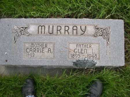MURRAY, GLEN I. - Dawes County, Nebraska | GLEN I. MURRAY - Nebraska Gravestone Photos