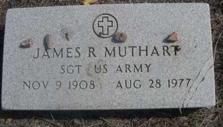 MUTHART, JAMES R. - Dawes County, Nebraska | JAMES R. MUTHART - Nebraska Gravestone Photos