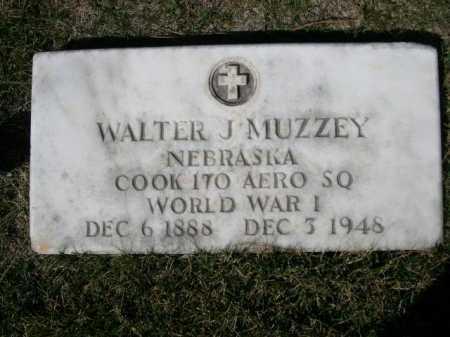 MUZZEY, WALTER J. - Dawes County, Nebraska | WALTER J. MUZZEY - Nebraska Gravestone Photos
