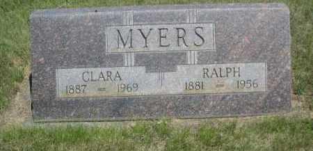 MYERS, CLARA - Dawes County, Nebraska | CLARA MYERS - Nebraska Gravestone Photos