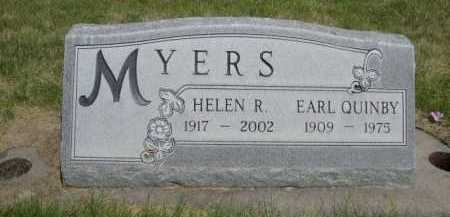 MYERS, EARL QUINBY - Dawes County, Nebraska | EARL QUINBY MYERS - Nebraska Gravestone Photos